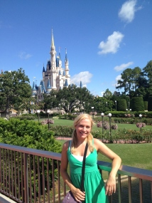 Jen at Magic Kingdom