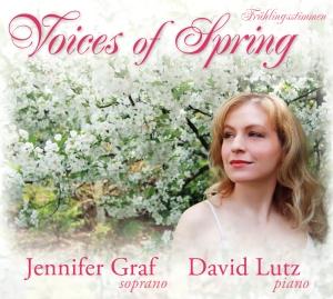 "Jennifer Graf's ""Voices of Spring"" CD."