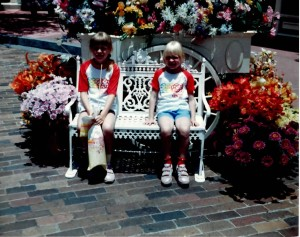 Jen and Amy at Magic Kingdom