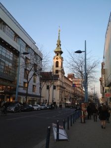 Walking up Mariahilfestrasse