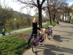 Me and my City Bike along the canal
