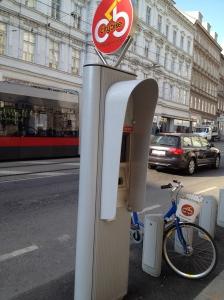 City Bike Kiosk