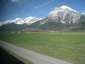 The Alps!