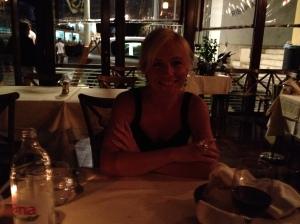 Inside the dining area at Kornat