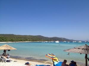 View of Saharun Beach