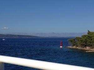 Back on the ferry, leaving Dugi Otok