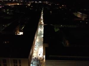 The street below