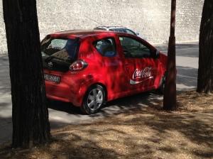 Coke mobile!