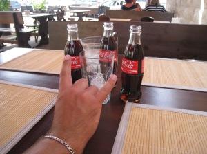 More bottled Coke!