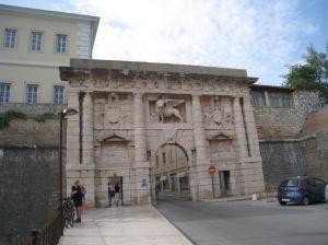 Through the ancient gate