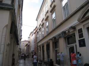 Streets of Old Town Zadar