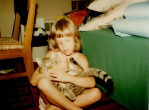 Taffy was my cat from when I was 6 years old until he passed away when I was 24.  I loved him so much!