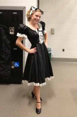Sneak peak of my Act One costume in Fledermaus...