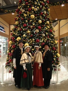 Olde Towne Carolers at the Sands Casino Mall in Bethlehem