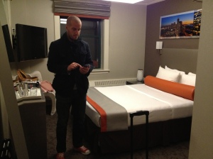 Our room in Boston