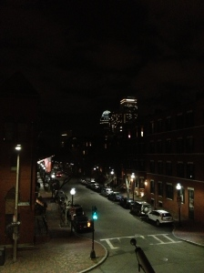 View of Boston from our hotel room