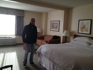 Our super big suite!