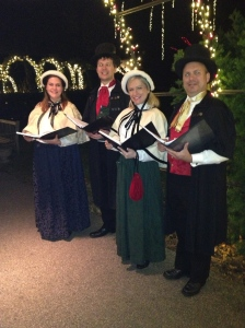 Olde Towne Carolers at Longwood Gardens