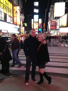 Miloš & Jen - Times Square