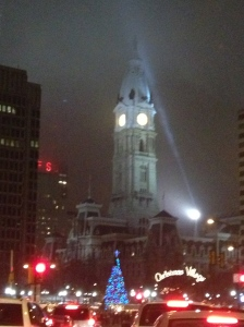 Foggy night in Philly