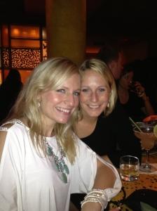 With my cousin Rachel at El Vez.
