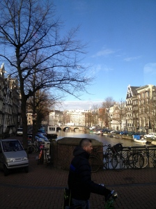 Amsterdam: canals and bicycles