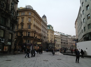 Looking down the Graben