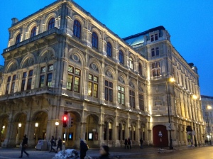 The Staatsoper in the evening light