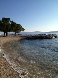 One of Crikvenica's beaches