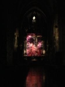 Stephansdom at night