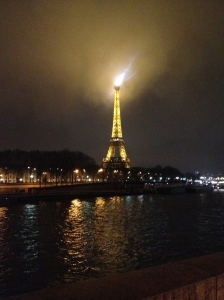 Eiffel Tower - sort of looks like the Eye of Sauron