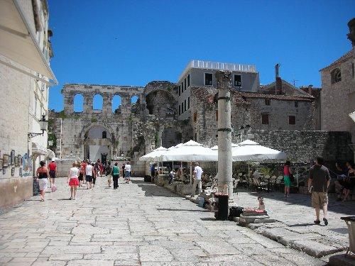 Split, Croatia - Roman ruins
