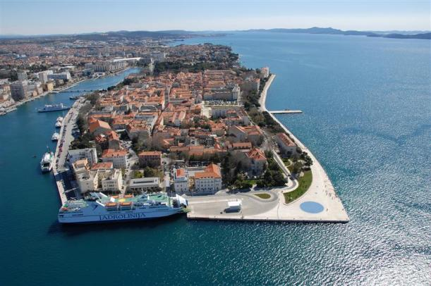 Zadar, Croatia (on the bottom right hand corner, you can see the Greeting to the Sun!)