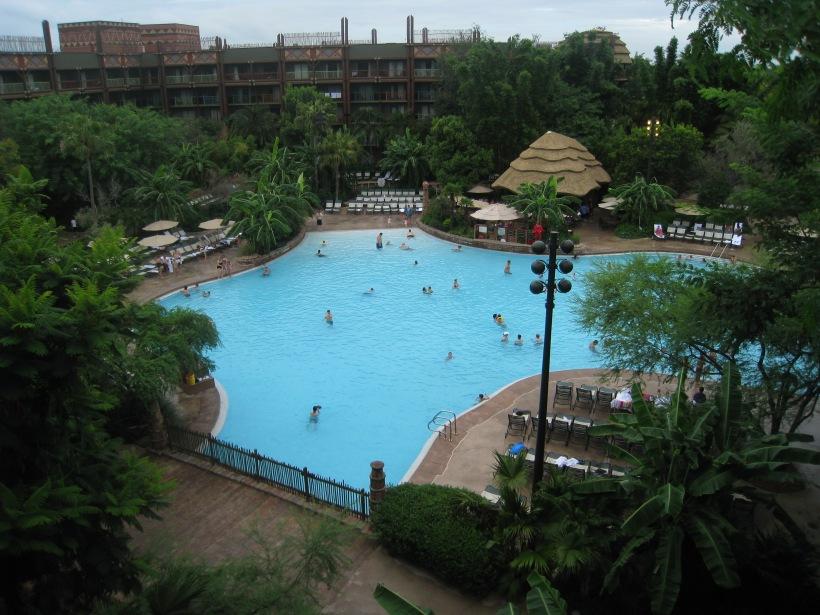 Pool View Room - Animal Kingdom Lodge - Jambo House