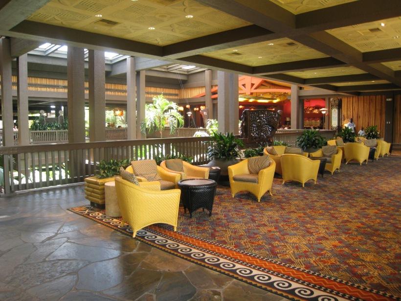 Polynesian Resort 2nd floor Ceremonial House
