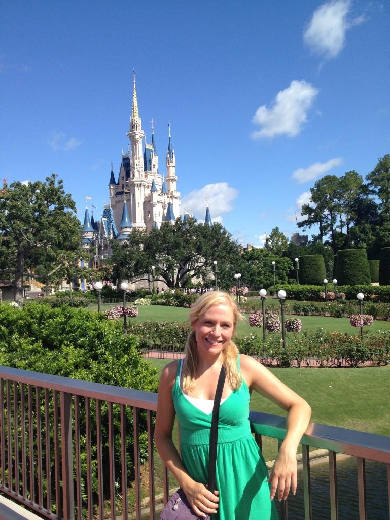 Jen in Disney