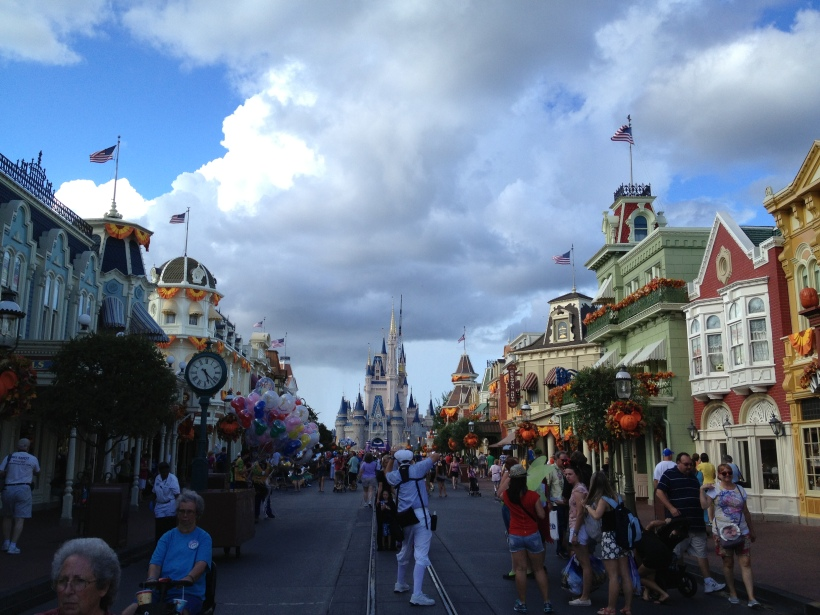 Main Street USA - during the fall!