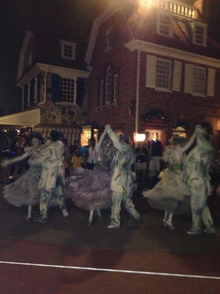 The dancing ghosts from The Haunted Mansion
