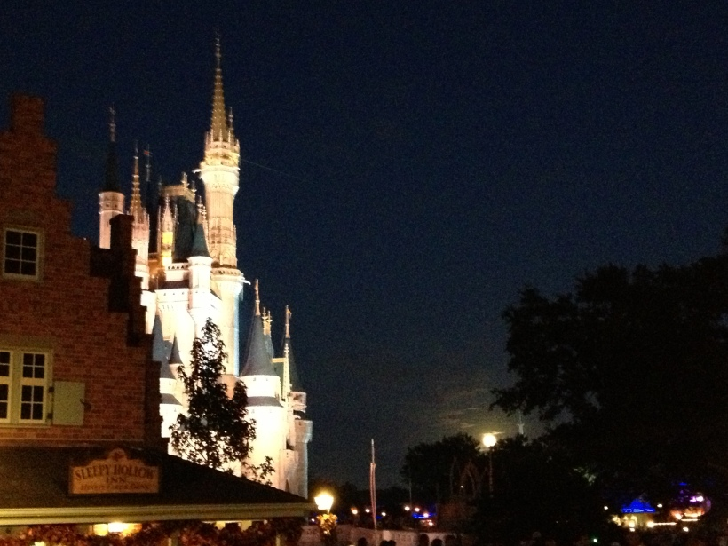 Moon rise...