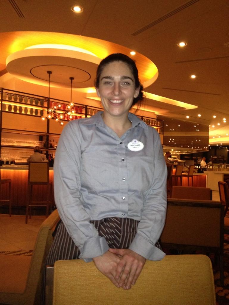 Our excellent server, Rachael!