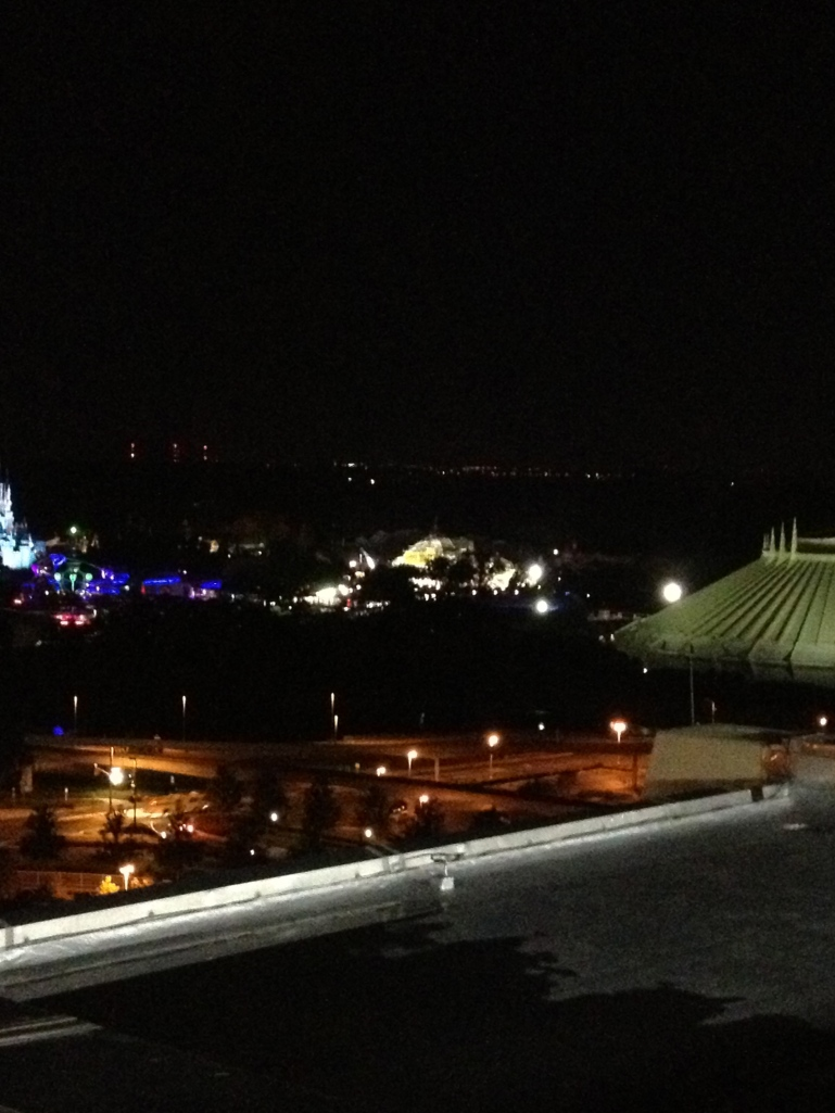 Night-time construction in MK.