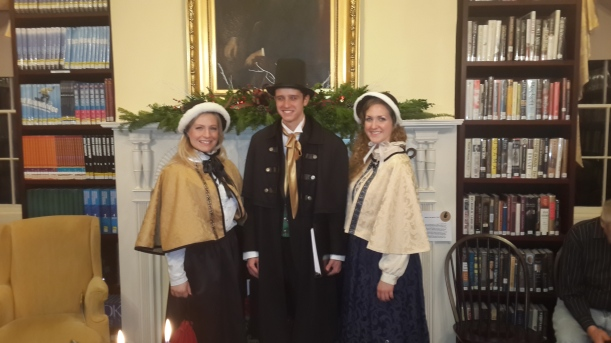 Olde Towne Carolers at the Raritan Public Library