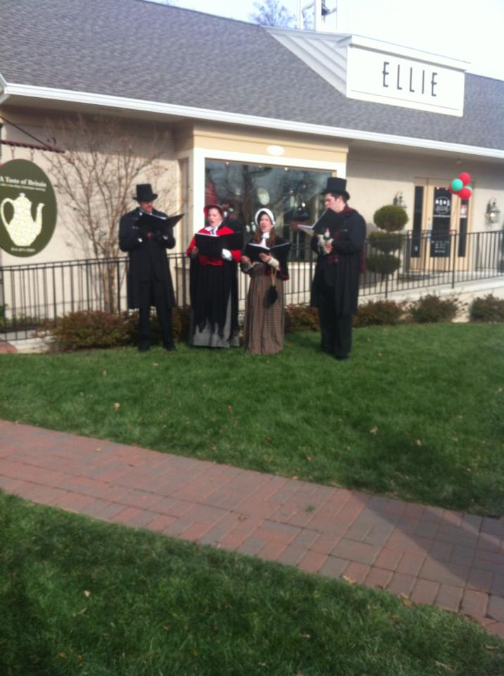 Olde Towne Carolers at Eagle Village Shops
