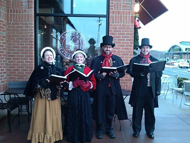 Olde Towne Carolers at the Shoppes at North Brunswick