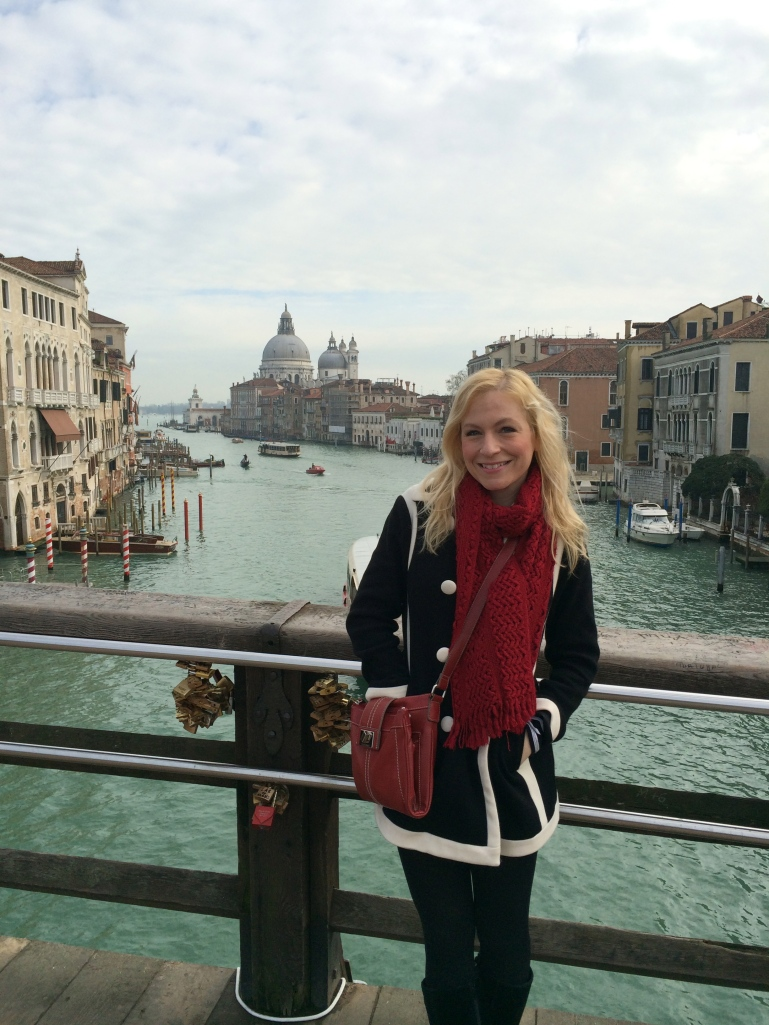 Jen and the Grand Canal, Venice