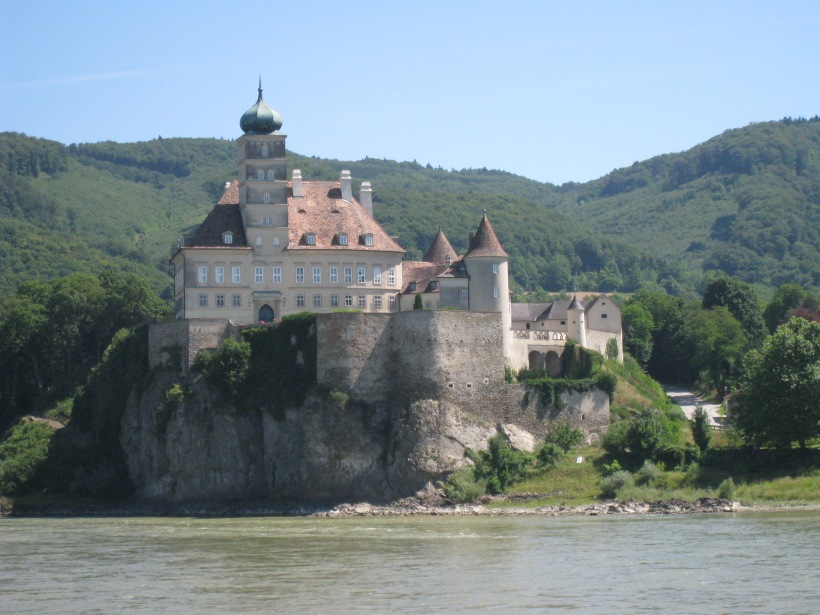 Castle along the Danube