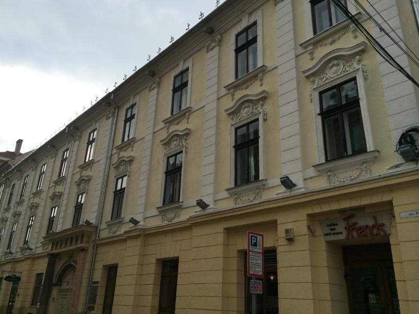 Building in Timişoara in true Viennese style