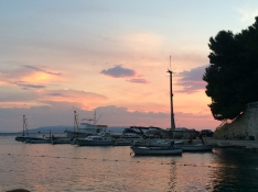 View from Il Golfo Restaurant, Makarska