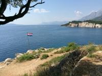 Makarska, Croatia - Croatian flag