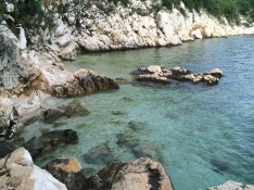 Our fave cove on Kačjak, Crikvenica